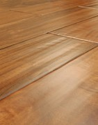 Engineered hardwood flooring is more durable than solid wood flooring.